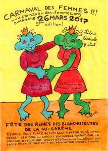 AFFICHE CARNAVAL DES FEMMES 2017